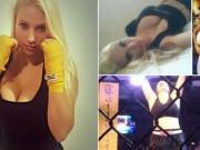 """Thể thao - Nữ võ sĩ phải chuyển hạng cân vì """"vòng 1"""" khủng"""