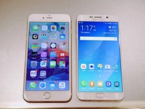 """Dế sắp ra lò - Trận chiến giữa 2 """"siêu"""" phablet: iPhone 6S Plus và Galaxy Note 5"""
