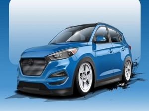 Ô tô - Xe máy - Ra mắt Hyundai SUV Tucson bản độ công suất 700 mã lực