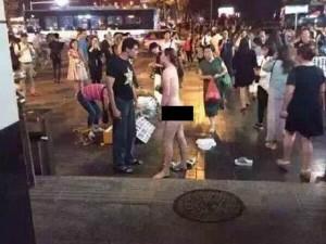Bạn trẻ - Cuộc sống - Cô gái khỏa thân giữa phố vì bạn trai từ chối mua iPhone 6S