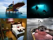 Du lịch - Khám phá khách sạn được tái tạo từ giàn khoan giữa biển