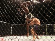 """Thể thao - UFC: Cú đá xoay """"bất thình lình giật mình"""""""