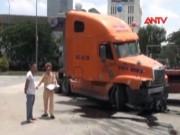 """Video An ninh - Vụ xe container """"điên"""": Tài xế khai nguyên nhân tai nạn"""