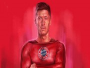 """Bóng đá - """"Siêu nhân"""" Lewandowski có thể ghi… 520 bàn/năm"""