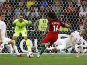Bóng đá - Người hùng Bồ Đào Nha phá 2 kỷ lục, hay nhất trận