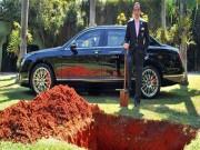 Tin tức ô tô - Bắt chước Pharaoh, đại gia Brazil chôn xe Bentley cùng khi chết