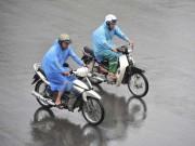 Tin tức trong ngày - Cuối tuần, mưa dông bao trùm cả nước