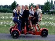 """Thế giới xe - ConferenceBike: Xe đạp """"hội thảo di động"""" với 7 chỗ ngồi"""
