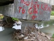 Tin tức trong ngày - Mưa lớn xô ngã kênh dẫn nước trăm tỉ?