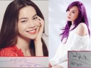 """Phim - Chữ kí """"bá đạo"""" của hàng loạt mỹ nhân Việt"""