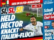 """Bóng đá - """"Trả nợ"""" Italia, báo Đức ví trận đấu như phim"""