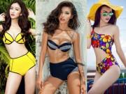 Thời trang - Dàn mẫu Việt 9X đẹp mướt mải với bikini sành điệu