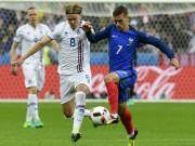 Bóng đá - Chi tiết Pháp - Iceland: Những phút nhàn nhã (KT)