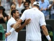 Wimbledon ngày 7: Tsonga, Isner và trận đấu dài nhất giải