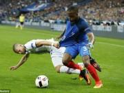 Bóng đá - Bóng chạm tay rõ ràng, ĐT Pháp vẫn thoát penalty