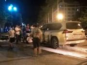 Tin tức trong ngày - Lexus 570 tông hàng loạt xe máy, 5 người nhập viện