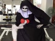 Làm đẹp - Tròn mắt xem ác quỷ Valak hăng say tập gym