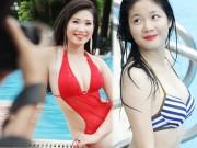 Thời trang - Hậu trường chụp bikini làm từ thiện gây xôn xao HN