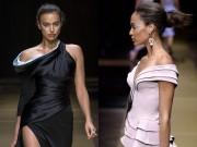 Thời trang - Irina Shayk siêu quyến rũ trong thiết kế của Versace