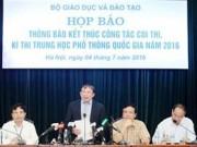 Tin tức trong ngày - Tối nay, Bộ GD-ĐT công bố đáp án chính thức các môn thi