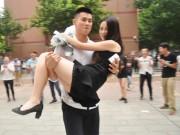 Bạn trẻ - Cuộc sống - Thiếu gia TQ mang xe sang tỏ tình với nữ sinh viên