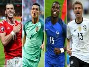 """Bóng đá - Bán kết Euro: Tôn vinh tập thể, """"hạ bệ"""" cá nhân"""