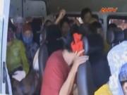 Video An ninh - Xe dù nhồi khách, vượt ẩu tuyến Đà Nẵng - Bình Định