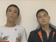 Video An ninh - Cặp đôi xăm trổ 22 lần cướp dây chuyền phụ nữ