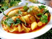 Ẩm thực - Gà hầm sốt cà chua ngon cơm ngày mát trời