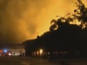 Video An ninh - Cháy kinh hoàng suốt đêm tại KCN Minh Hưng, Bình Phước