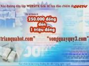 An ninh Xã hội - Phá đường dây website giả tung tin nhắn trúng thưởng