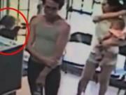Bạn trẻ - Cuộc sống - Clip: Bé gái 4 tuổi bị bắt cóc ngay trước mặt mẹ