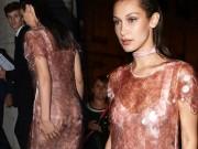 Thời trang - Hot girl Hollywood gây chú ý với váy xuyên thấu nội y