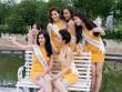 Thí sinh Hoa hậu bản sắc Việt toàn cầu khoe sắc ở FLC Vĩnh Phúc Resort