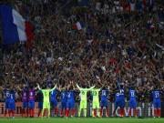 Bóng đá - Pháp nhái kiểu ăn mừng Viking của Iceland