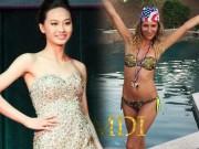 Đồ lót - đồ bơi - Tiệc bể bơi sôi động của dàn thí sinh Hoa hậu Điếc