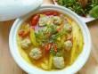 Canh chua chả cá dọc mùng tốn cơm vô cùng