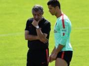 Bóng đá - Chờ đấu Pháp: Ronaldo diễn với bóng, khoe cơ đùi