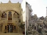 Ảnh: So sánh Syria trước và sau 5 năm nội chiến