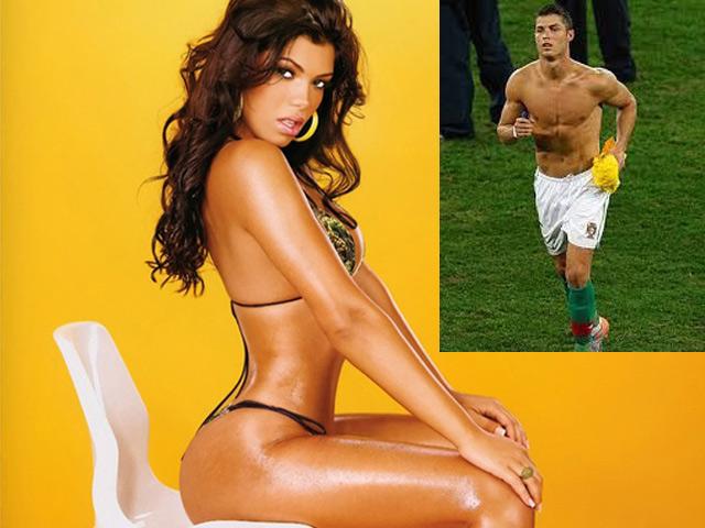 Vẻ gợi cảm của nữ MC khiến Ronaldo muốn