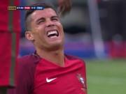"""Bóng đá - Bị """"triệt hạ"""" & rời sân: Ronaldo có thể nghỉ 5 tháng"""
