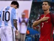 Bóng đá - Vô địch EURO 2016, Ronaldo đã vĩ đại hơn Messi?