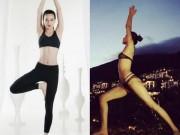 Làm đẹp - Huấn luyện viên The Face đẹp mướt mắt khi tập yoga