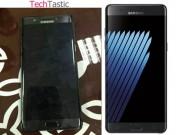 Dế sắp ra lò - Samsung Galaxy Note7 lộ ảnh thực tế, quét mống mắt