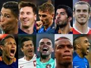 Bóng đá - Top 10 ứng viên QBV 2016: Griezmann vượt Suarez