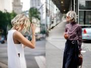 Thời trang - Lợi thế thời trang của một cô nàng tóc ngắn