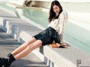 Thời trang - Nhan sắc tuyệt mỹ của chân dài gốc Á đắt giá nhất thế giới