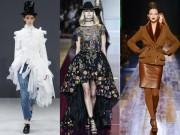 Thời trang - 7 xu hướng nổi bật từ Tuần lễ thời trang cao cấp Paris