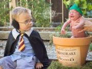 Em bé hóa thân thành Harry Potter siêu đáng yêu