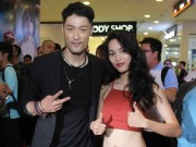 Phim - Bạn gái khoe eo thon đến ủng hộ Johnny Trí Nguyễn